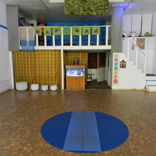 B.L.I.S.S Yoga @ Yoga Mikes Studio Blue by~ Dan Hooke