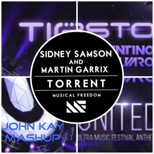Tiesto, Quintino & Alvaro vs. Sidney Samson & Martin Garrix - United Torrent (John Kay Mashup)