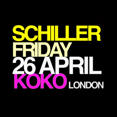SCHILLER LIVE IN LONDON | 26 APRIL 2013
