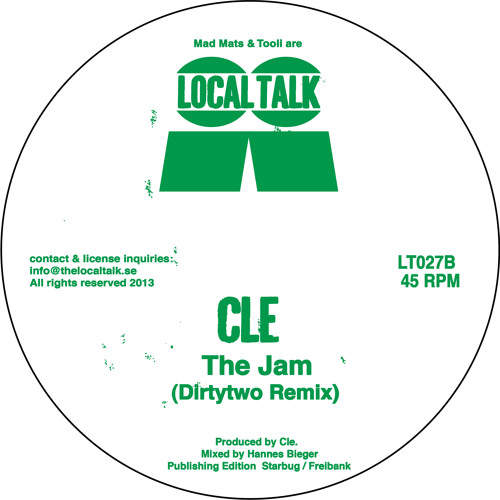 Cle - The Jam (Dirtytwo Remix) (LT027, Side B)