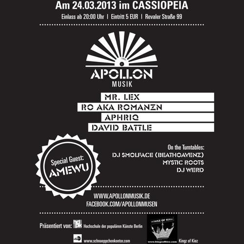 Apollon Musik - Letzte Show (rap.de Exclusive)