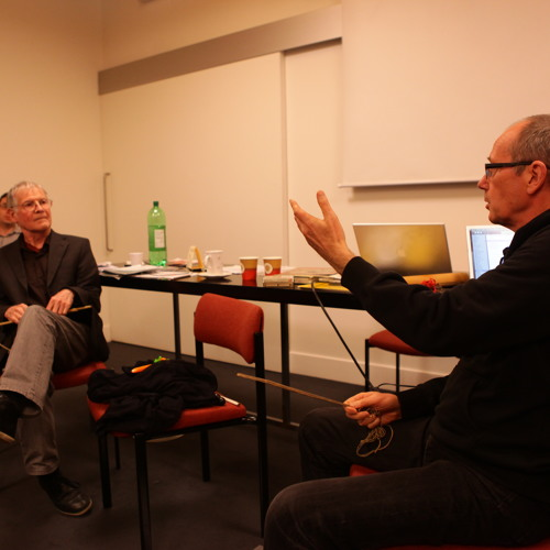 David Toop & Max Eastley in Conversation at the PRM (24-11-2012)