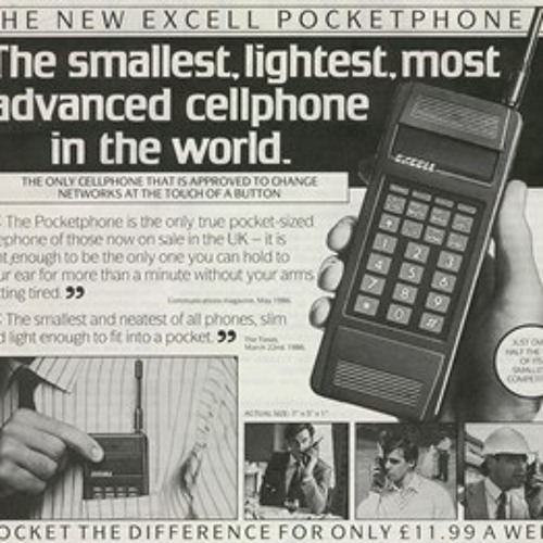 The Mobile Phone is over 40 years old! by Steve Biddle.