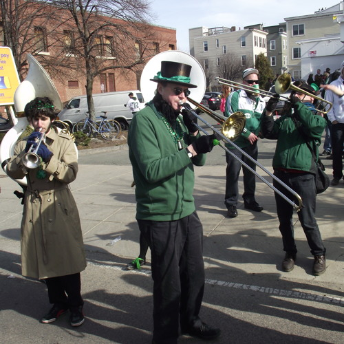 Peace Parade Well Received, But Delay Dwindles Crowds