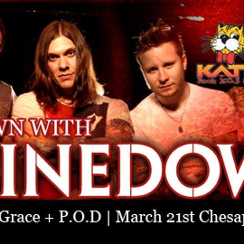 Brent of Shinedown calls Tony Z at the KATT in OKC - Weds March 20, 2013