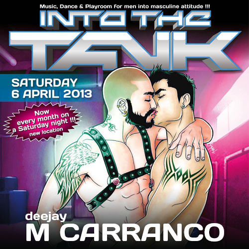 M Carranco @ INTO THE TANK - April 2013