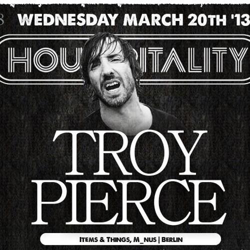 Troy Pierce | Live @ Housepitality 3/20/13 | Housepitalitysf.com