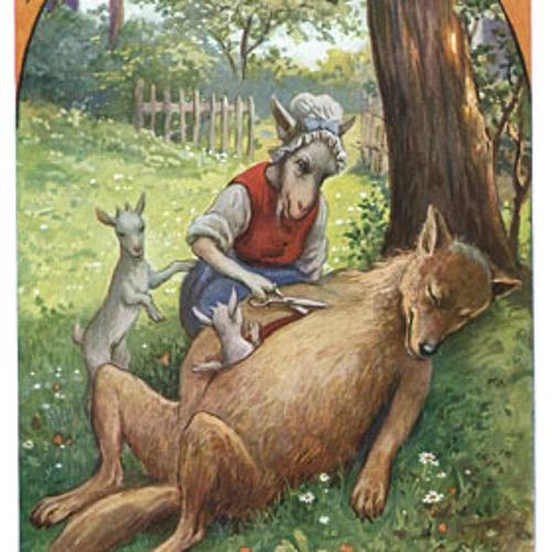 O Lobo e os sete Cabritinhos, Irmãos Grimm
