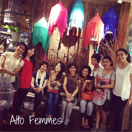 """Bintang-Bintang"" cover by. @altofemmes arr. by @rollysetlight"