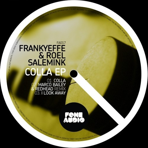 Frankyeffe & Roel Salemink - I Look Away (Marco Bailey and Steve Redhead Remix) - Fone Audio