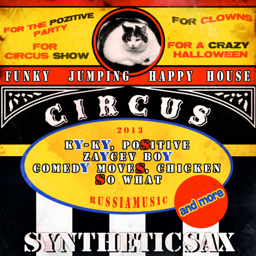Syntheticsax - Comedy Moves (Backing Track)