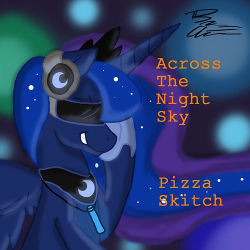 Across the Night Sky (art by ThunderShock0823)
