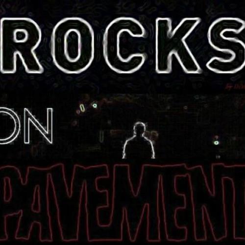 Rocks on Pavement