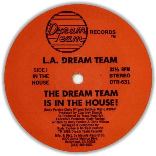 L.A. Dream Team - The Dream Team Is In The House - DJ SUmSkiI (up-Edit)