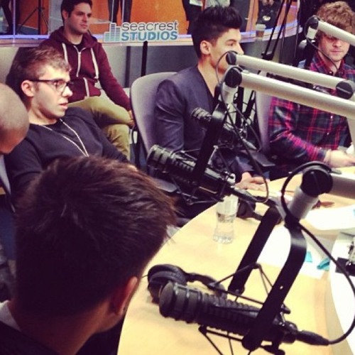 The Wanted Talk Living in LA and Perform Live In Studio at CHOC Children's