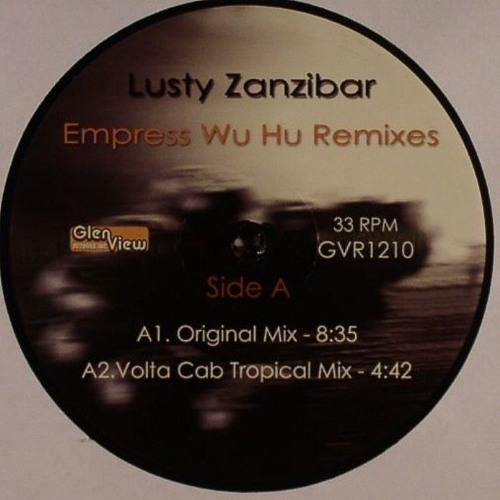 "GVR1210 — Lusty Zanzibar — Empress Wu Hu Remixes 12"" w/ Vakula, Volta Cab & OE remixes"