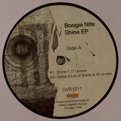 "GVR1211 — Boogie Nite — Shine EP 12"""