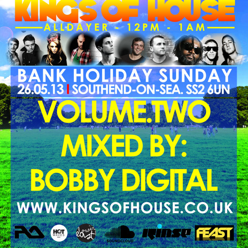 KINGS OF HOUSE PROMO CD VOL 2 MIXED BY BOBBY DIGITAL