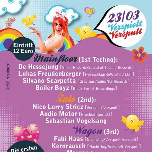 Lukas Freudenberger @ Verspielt Verspult (23.03.2013 - Zollamt Stuttgart)