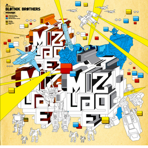 """""""Future Visions"""" By the Blotnik Brothers for Satamile Rec."""