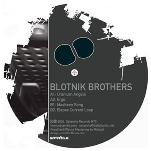 """""""Ergo"""" by the Blotnik Brothers for Satamile Records"""