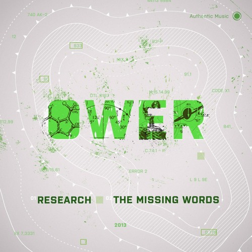 Ower - Research / The Missing Words (AUTHENTIC004)_OUT NOW