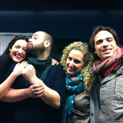 La Tilda,Valery&djB:ZIBBA ALLA RADIO CHE NON ESISTE!! at Spazio Mil