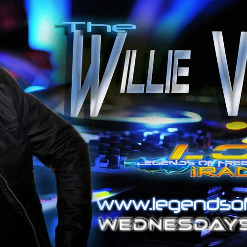 The Willie Valentin show on Legends of Freestyle Radio