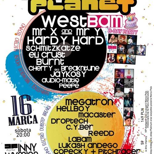 Lukash Andego - live @ Bass Planet PL (Westbam b-day) Szczecin 16.03.13