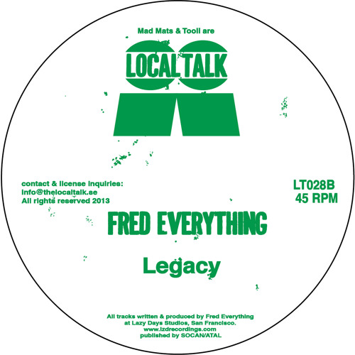 Fred Everything - Legacy (LT028, Side B2)