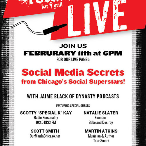 Rockit.LIVE 005 - Social Media Secrets From Chicago's Social Superstars