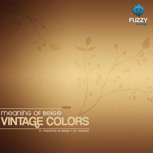 Vintage Colors - Palette (Original Mix)