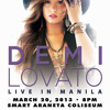 Demi singing House That Built Me.:) LIVE IN MANILA.