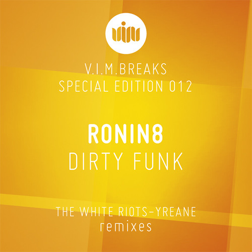 RONIN8-Dirty Funk (THE WHITE RIOTS Remix) Out Now on Beatport