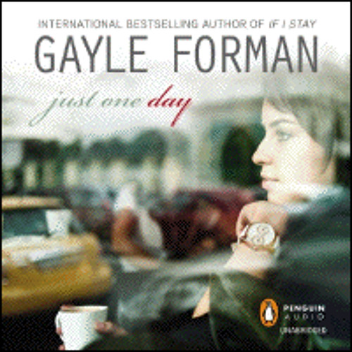 JUST ONE DAY by Gayle Forman, read by Kathleen McInerney