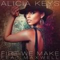 Alicia Keys Fire We Make (Ft. Maxwell) Artwork