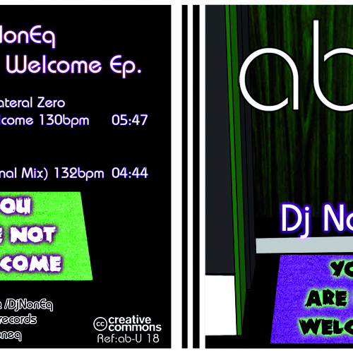 Dj NonEq Ft Collateral Zero - You Are Not Welcome (Original Mix)
