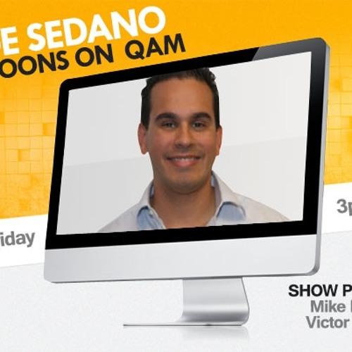 Jorge Sedano Podcast 3-25-13