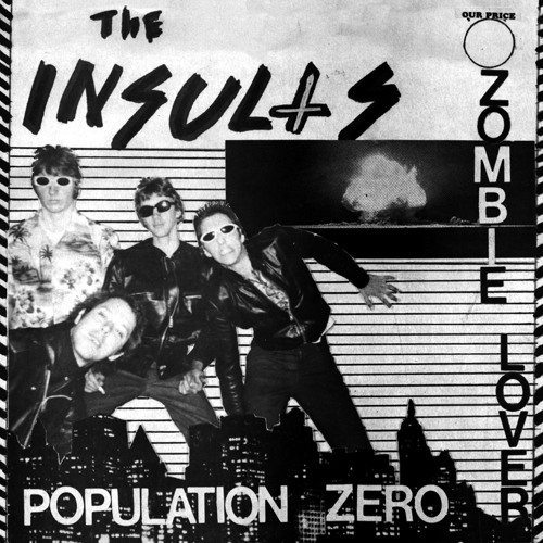 The Insults - Population Zero - HAW-032 - Last Laugh Records