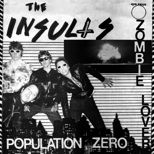 The Insults - Population Zero - HAW-032 - Last Laugh Records