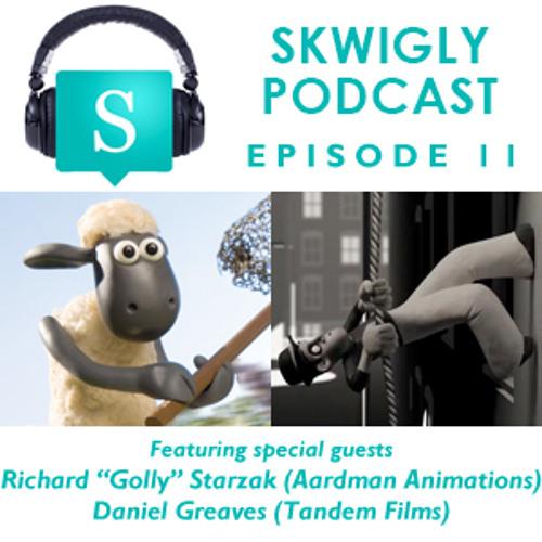 "Skwigly Podcast 11 (26/03/2013) - Richard ""Golly"" Starzak & Daniel Greaves"