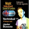 Technikal 4 Hour Set @ Magic, Niceto, Buenos Aires, Argentina (18.08.2012)