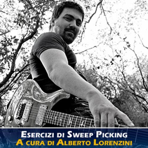 Alberto Lorenzini - Sweep Picking esempio 2 - Pink