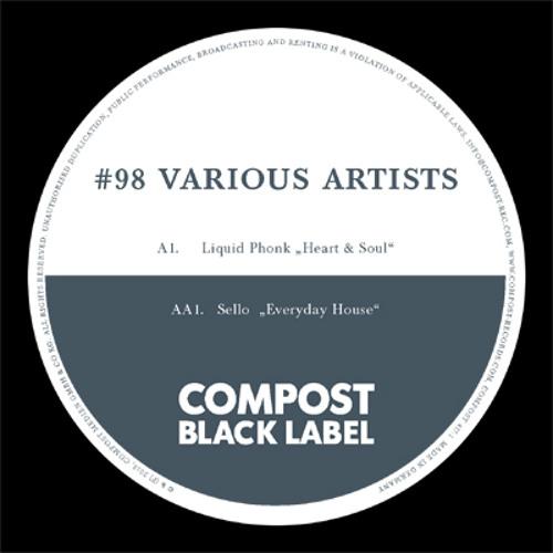 CPT 417-1   Various Artists   Compost Black Label 98