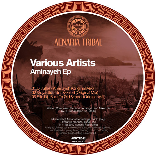 Dj Julles - Aminayeh (Original Mix) Aenaria Records