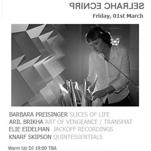 Elie Eidelman, Skipson, Barbara Preisinger, Aril Brikha on The T Room Sessions