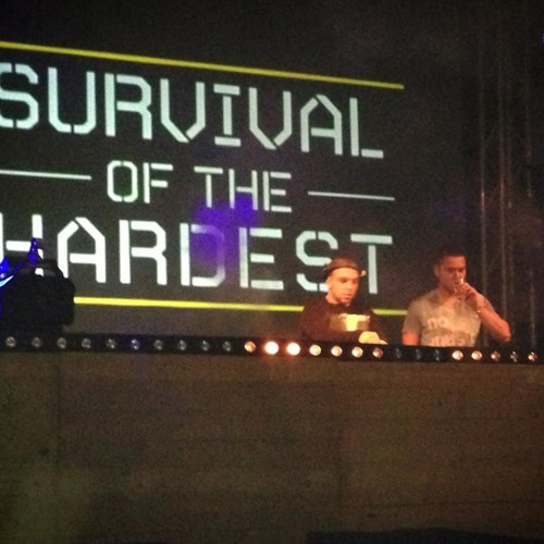Survival of the Hardest 15-03-2013 liveset KILLA-B & SCHAIER Timmerfabriek Vlissingen