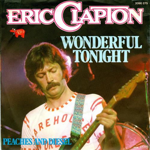 Clapton wonderful tonight guitar