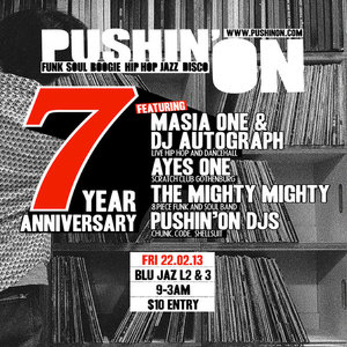 Pushin' On 7 Year Anniversary Set. Singapore 2/22/2013