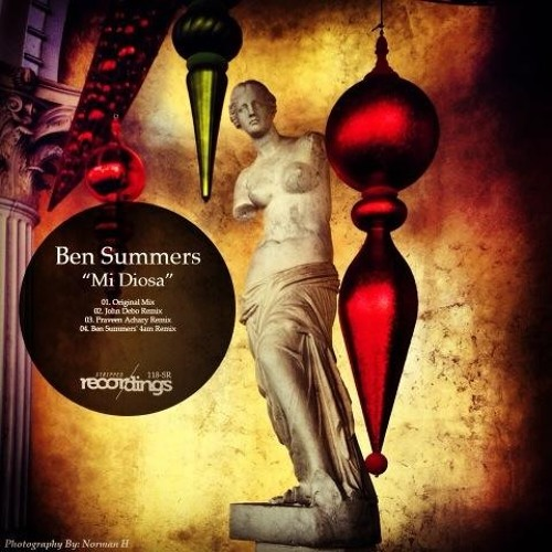 Ben Summers - Mi Diosa (Praveen Achary Remix - Snippet) [Stripped Recordings]